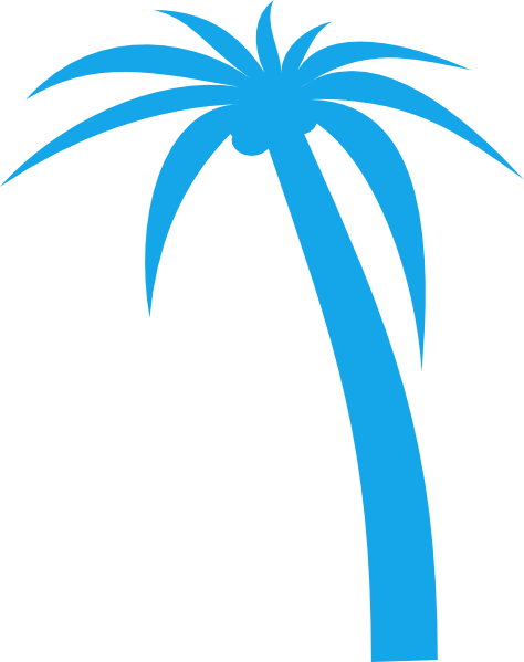 Vaporwave palm trees png. Tree clip art at