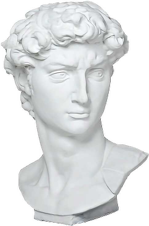 Vaporwave statue transparent png. Aesthetic aesthetictumblr freetoedit report