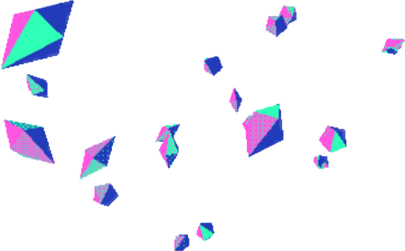 Vaporwave vector aesthetic. Tumblr diamond color colorful