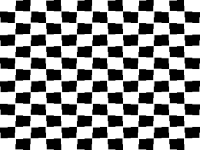 Vaporwave vector checkerboard. File optical illusion bw