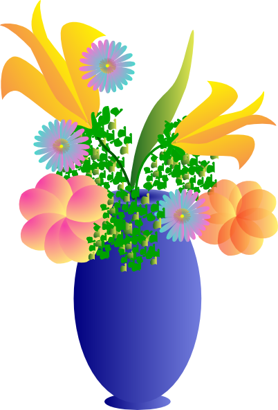 vase vector small plant