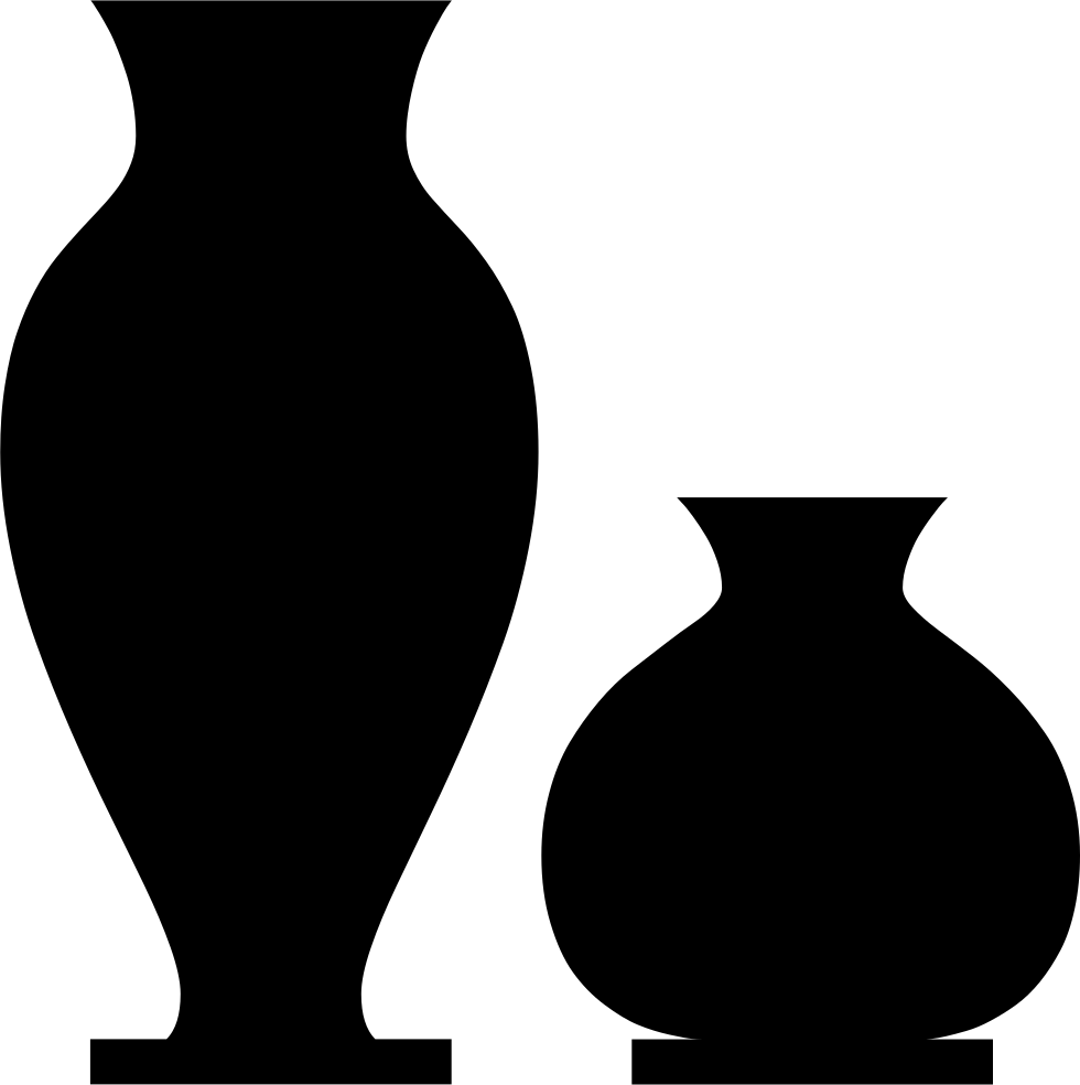 Vases png icon free. Vase vector svg vector library download