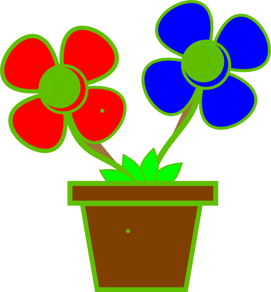 Vase vector two flower. Clipart at getdrawings com