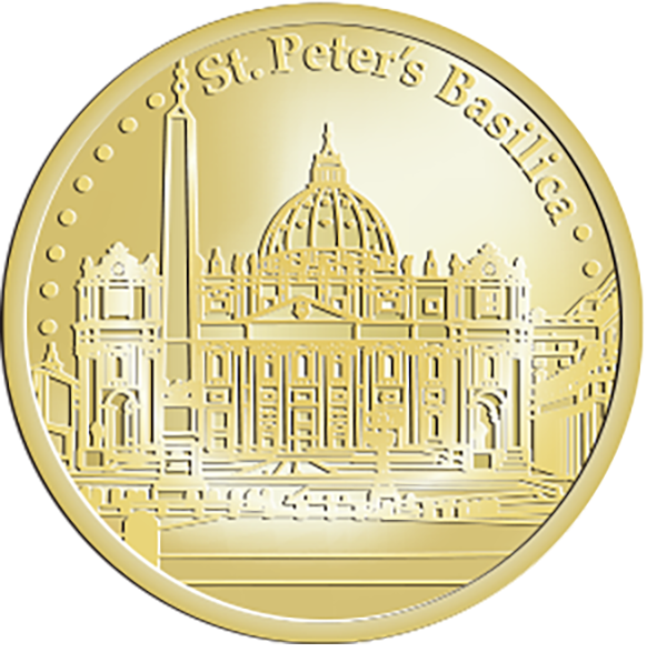 St peter s basilica. Vatican City freeuse library