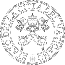 Vatican City. Wikipedia the seal of
