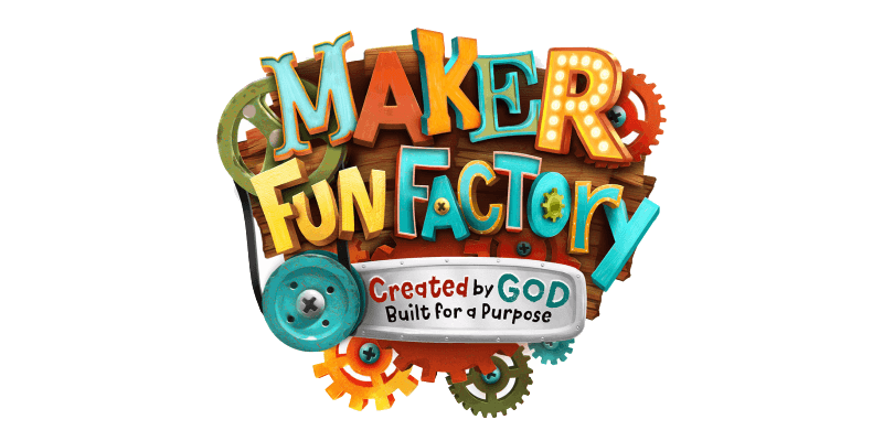 Vbs 2017 maker fun factory png. Created by god built