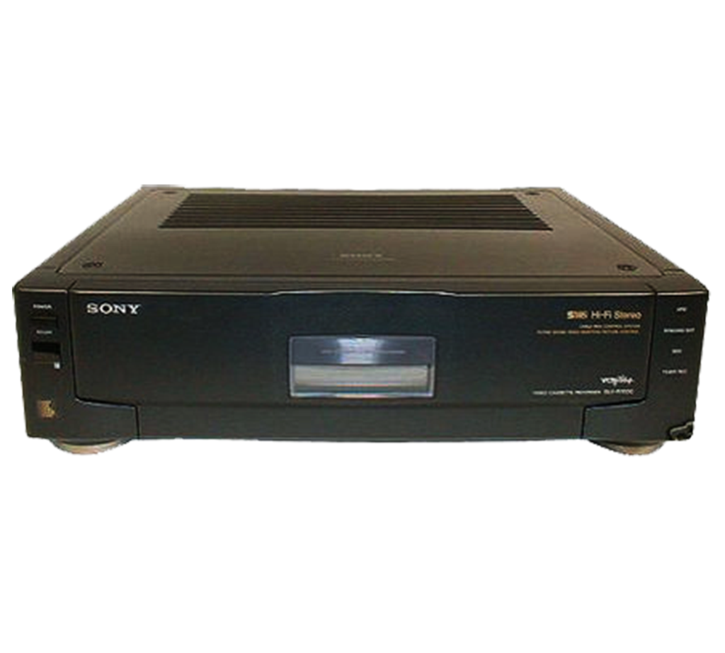 Vhs recording filter png. Sony slv r s