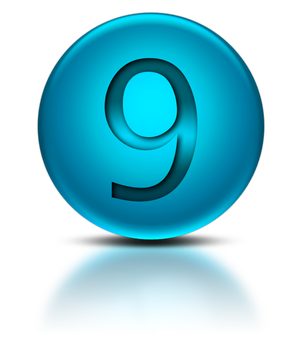 Vector 9 number. Png download free icons