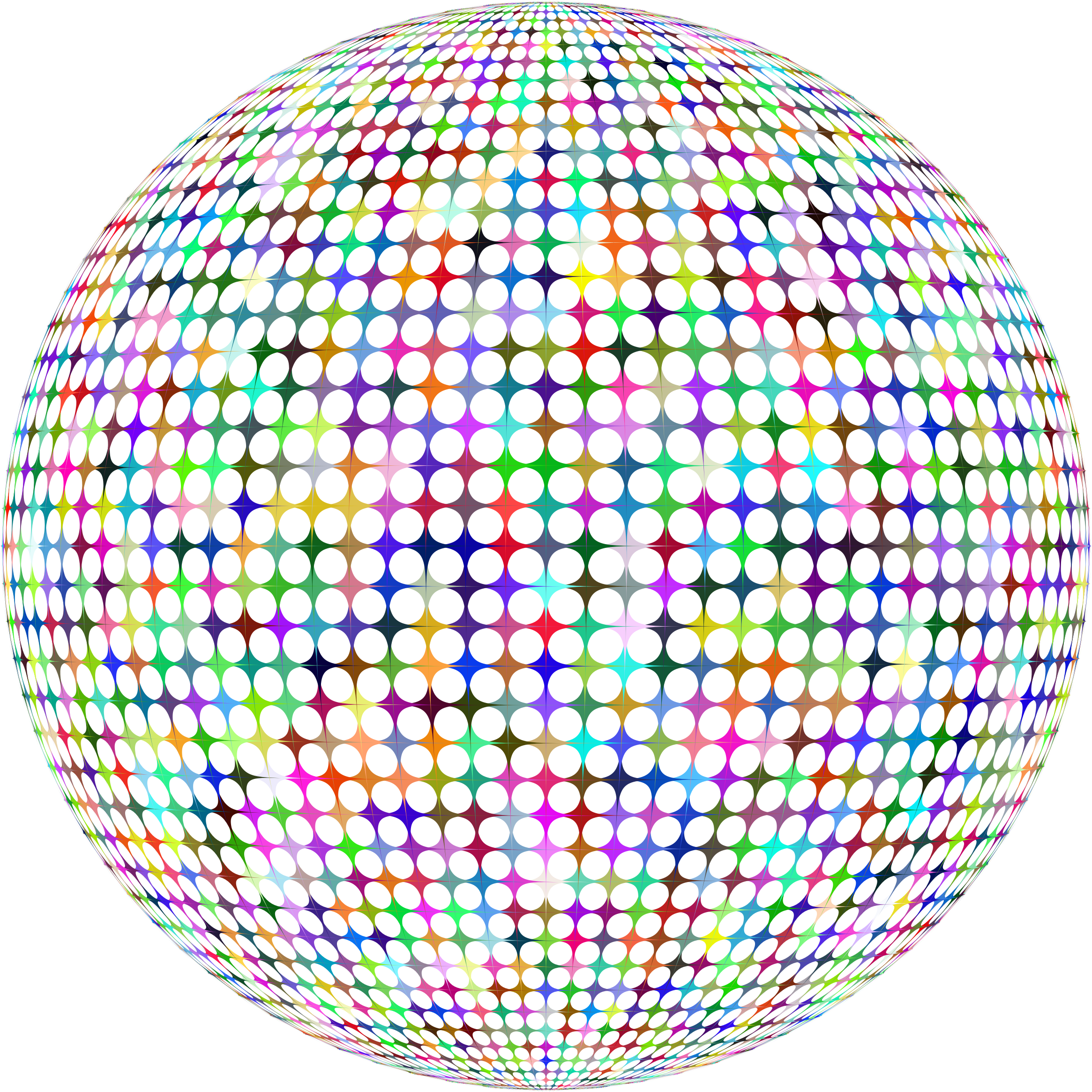 Vector abstracts sphere. Prismatic abstract icons png