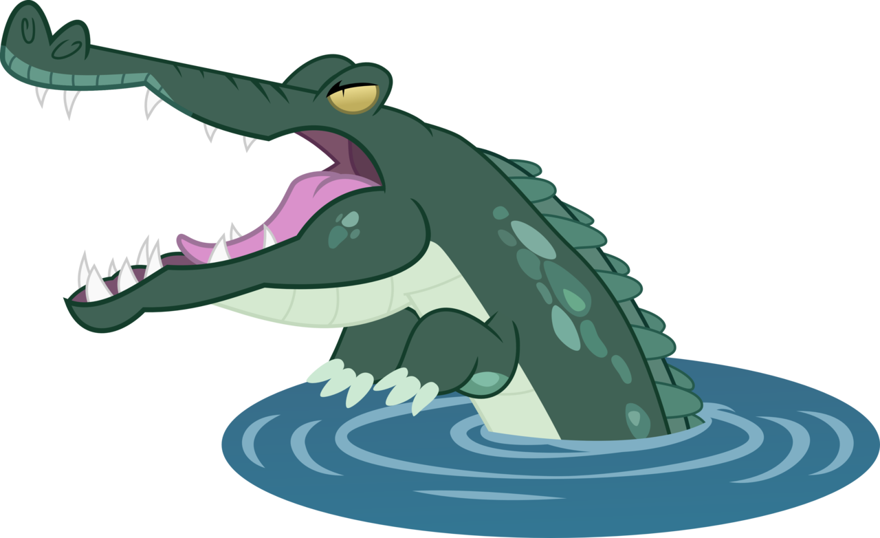 Vector alligator crocodile. Animal artist ambassad