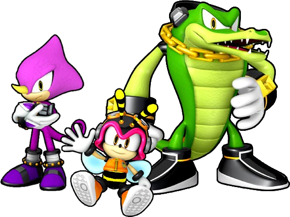 Vector alligator channel. Team chaotix sonic news svg transparent download