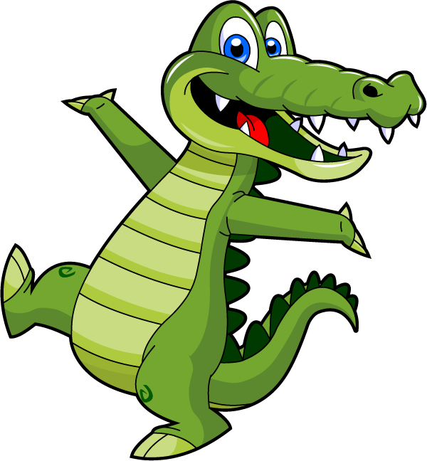 Vector alligator chef cartoon.  collection of clipart image royalty free download