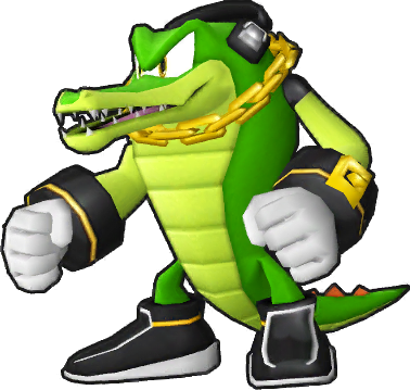 Vector alligator sonic character. Runners by sonicx on