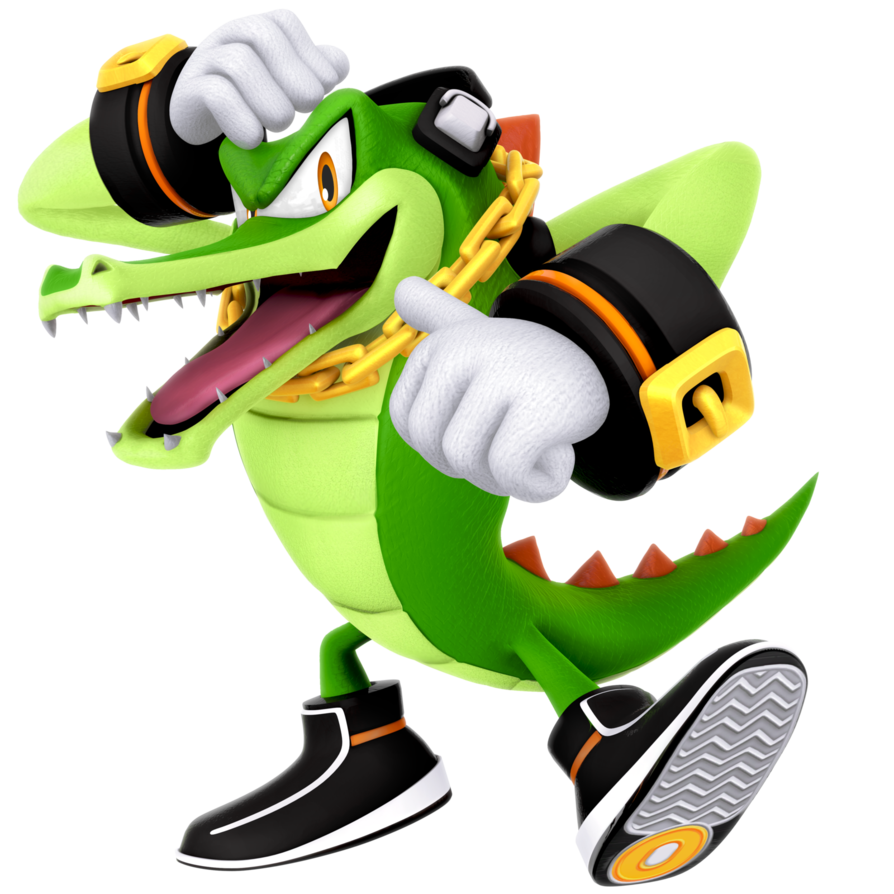 Vector alligator sonic hero. Legacy the crocodile render vector freeuse library
