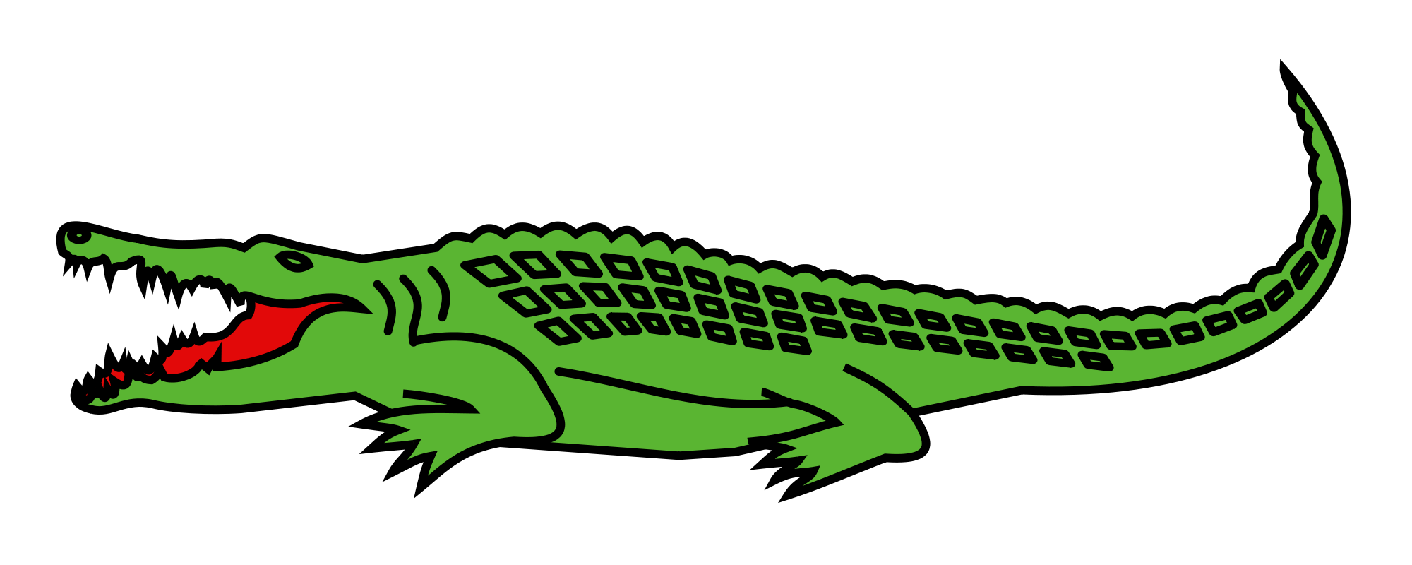 Vector alligator svg. File h raldique meuble vector free download