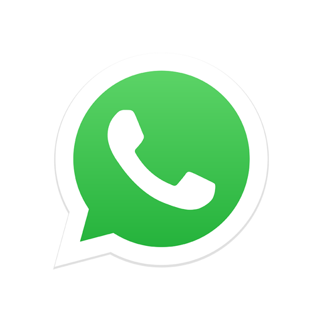 Whatsapp vector icon. Social media logo png