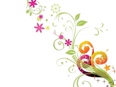 Vector flower design png. Floral transfers pinterest hobby
