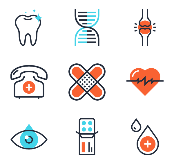 Vector avatars infographic. Healthcare and medicine illustration