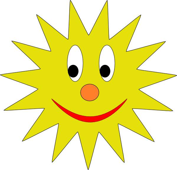 Vector avatars public domain. Sun avatar yellow pinterest