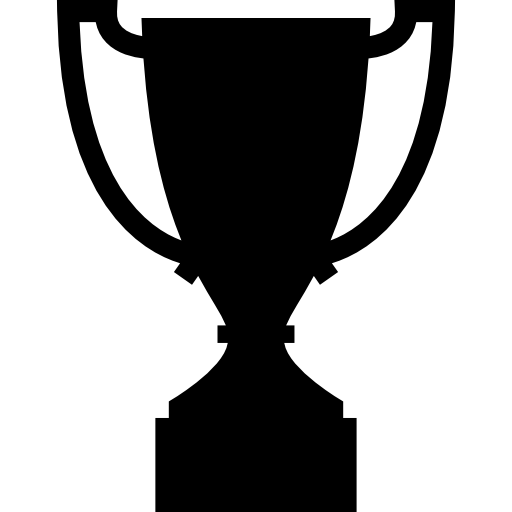 Vector award shape. Trophy icons free download