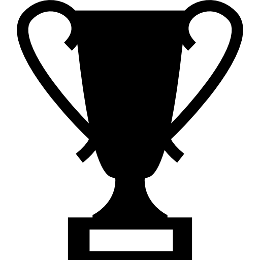 Vector award trophy. Icons free download