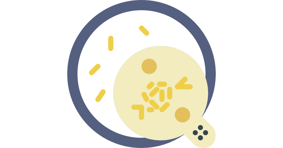 Vector bacteria. Free icons designed by