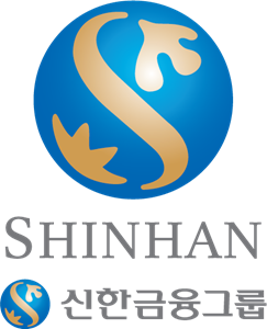 Shinhan logo ai free. Vector bank graphic library library