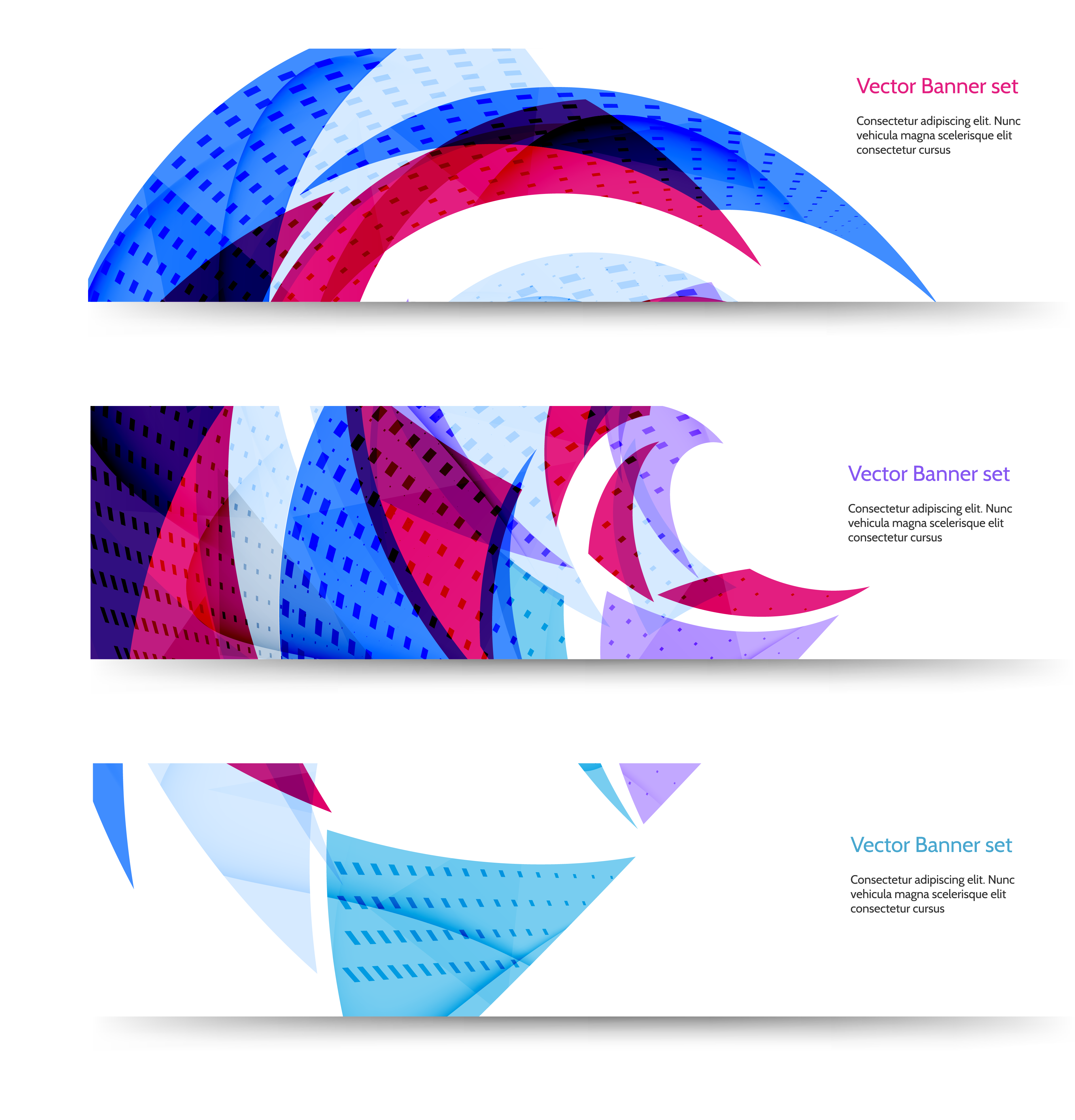 Vector banner design png. Web geometry euclidean banners