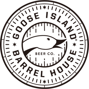 Vector barrel. Goose island house logo
