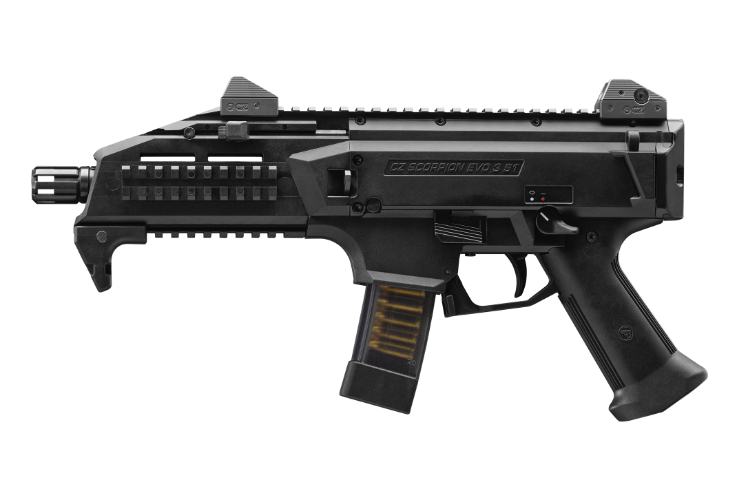 Vector barrel front. Cz usa scorpion evo