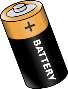 Vector battery animated. Clip art at clker