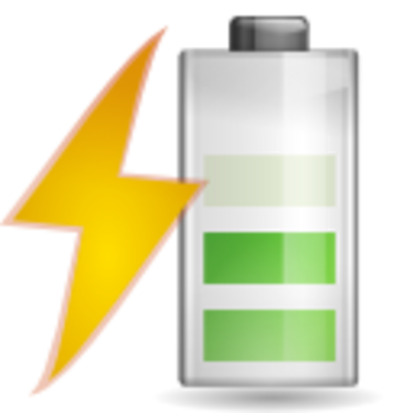 Vector battery animated. Clipart freeuse download