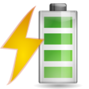 Vector battery clipart. Charging