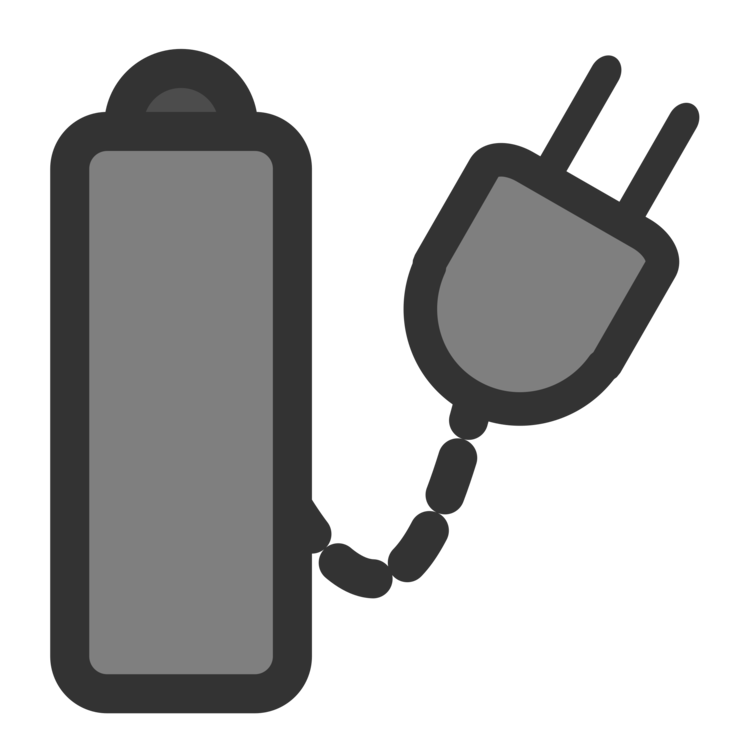 Vector battery laptop. Ac adapter computer icons