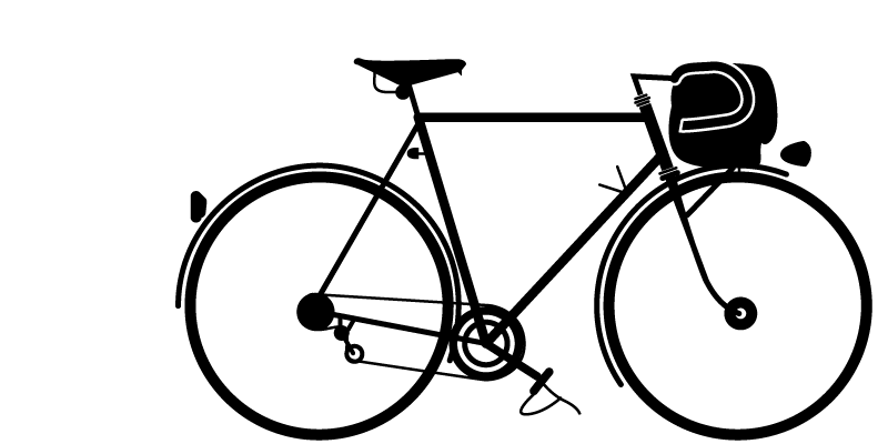 Cycle vector bicycle design. Philip williamsonillustration archives williamson