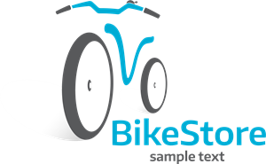 Cycle vector cycling. Bike store logo eps