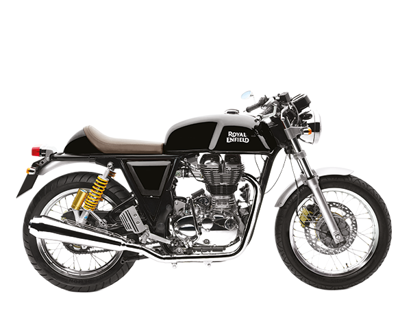 Vector bike royal enfield. Continental gt black by