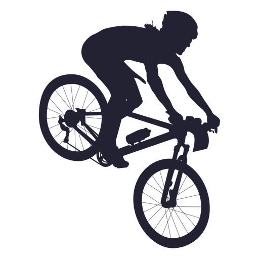 Bicycle sport silhouette transparent. Bike svg bmx banner free stock