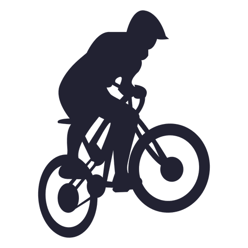 Vector bike sport. Bmx silhouette transparent png