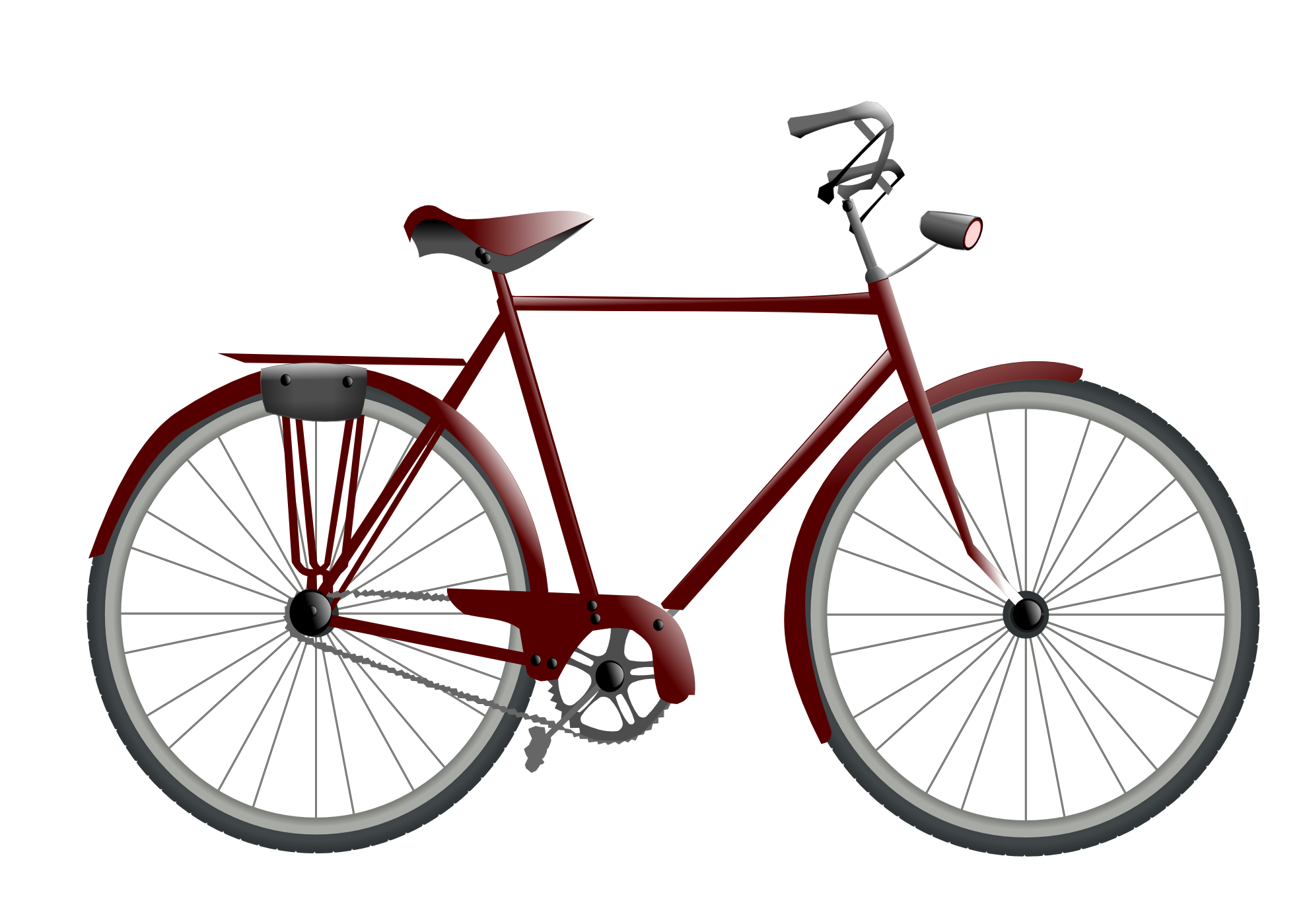 Vector bike transparent. Collection of free hybridized
