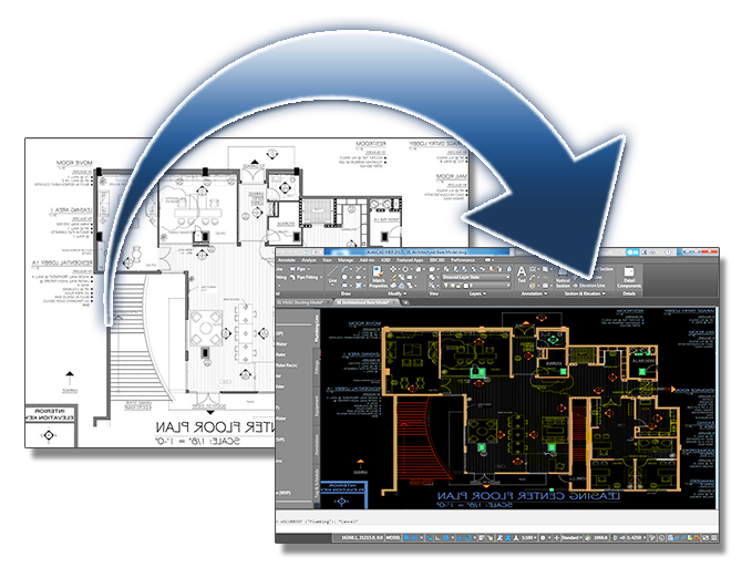 Vector blueprint engineering. Turn your existing blueprints