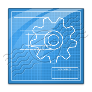 Vector blueprint home. Free images at clker