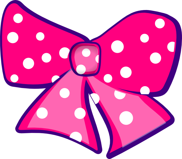 Vector bows cheer bow. Pink clip art at