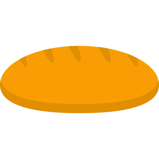 Vector bread. Free icons and png