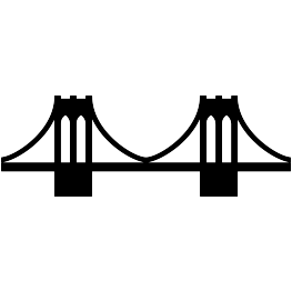 Vector bridges silhouette. Bridge at getdrawings com