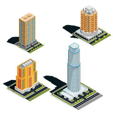 Vector buildings old. Skyscraper png vectors psd