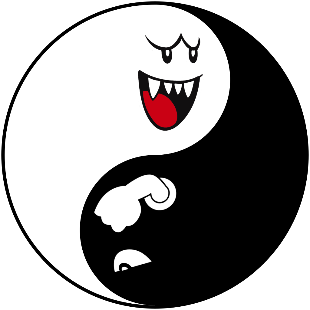 Super drawing bullet. Boo bill yin yang