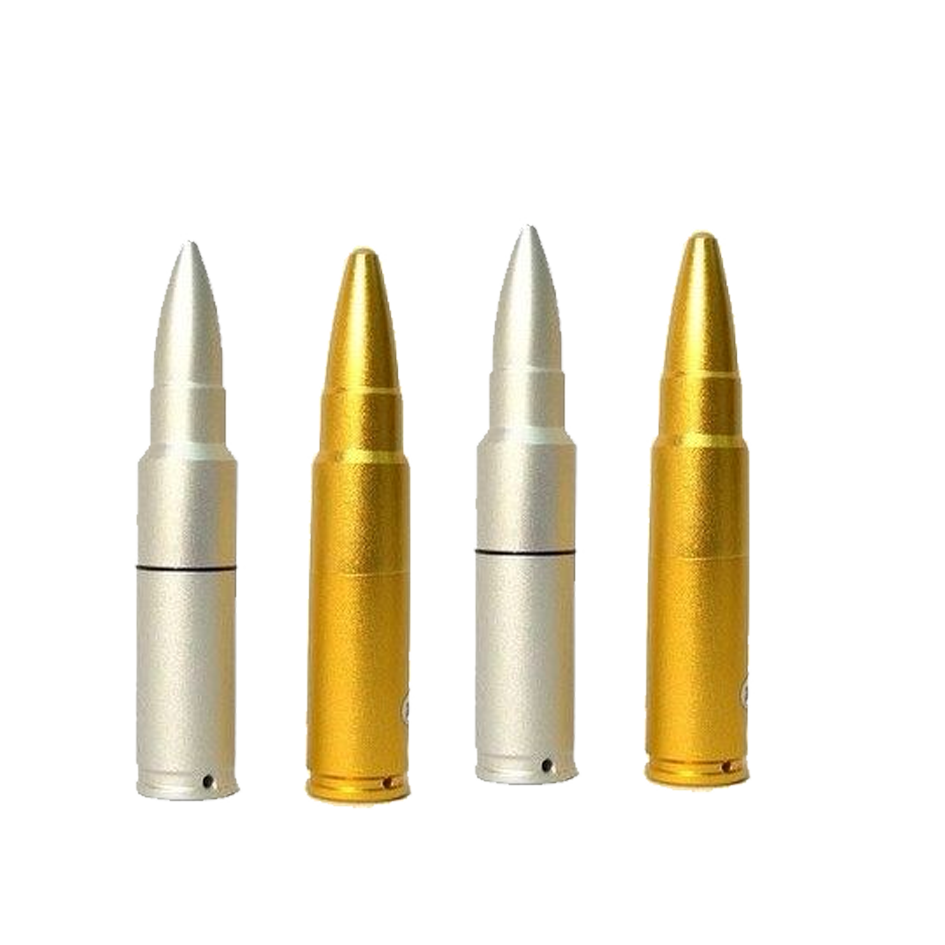 Usb flash drive data. Vector bullet ammo picture royalty free