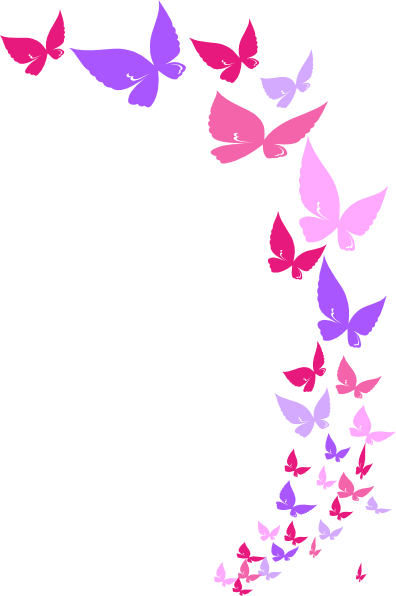 Vector butterflies. Collection of free clipart