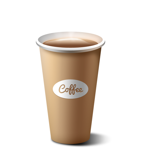 Vector cafe take away. Paper coffee cup icon